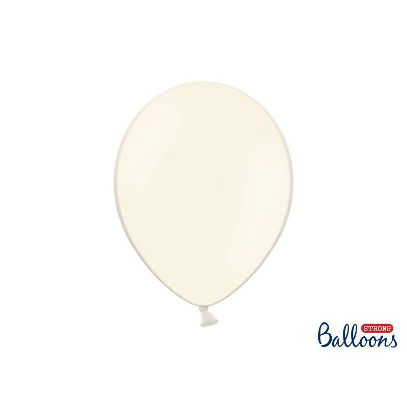 Ballons forts 30cm crème légère pastel