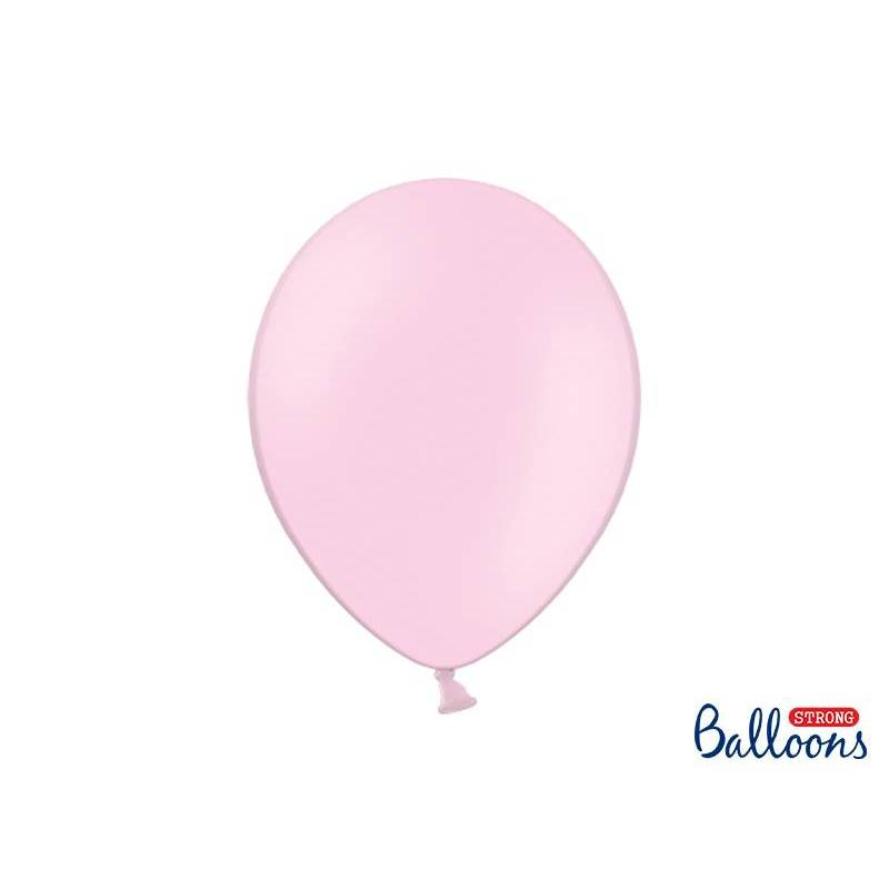 Ballons forts 30cm rose pastel