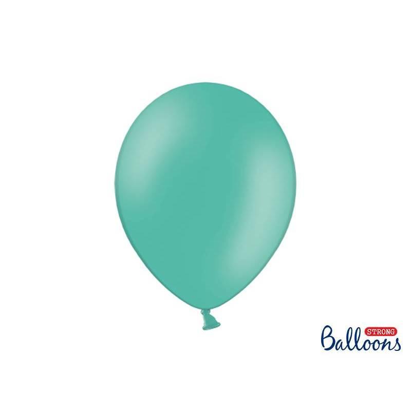 Ballons forts 30cm aigue marine pastel
