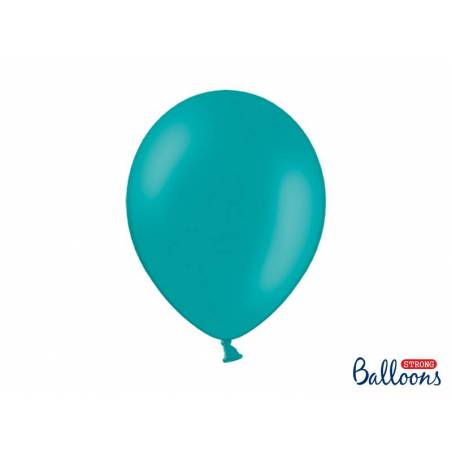 Ballons forts 30cm bleu pastel lagon