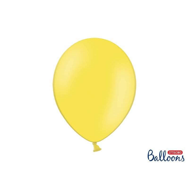 Ballons forts 30cm zeste de citron pastel