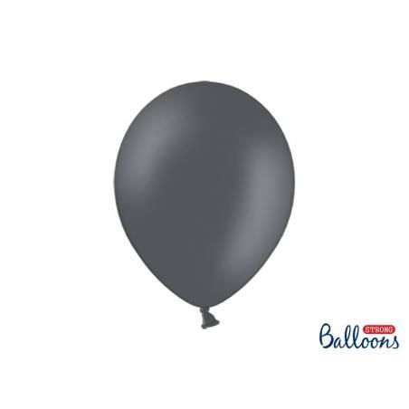 Ballons forts 30cm gris pastel