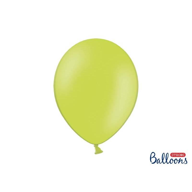 Ballons forts 30cm vert citron pastel