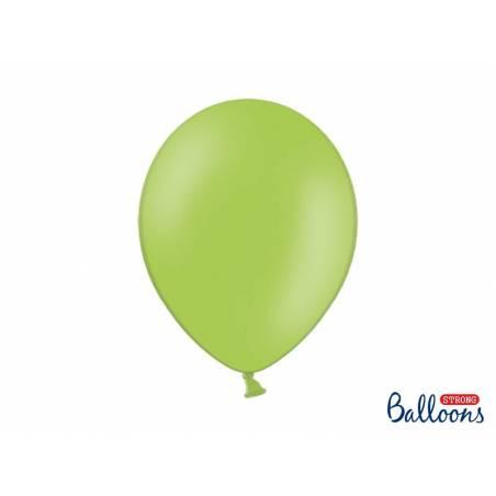 Ballons forts 30cm vert vif pastel