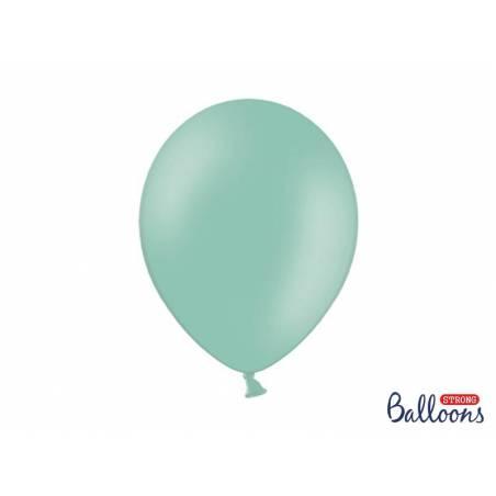 Ballons forts 30cm vert menthe pastel