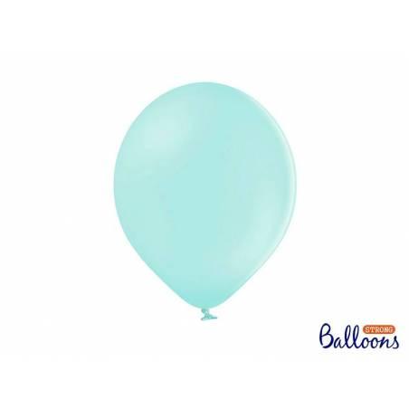 Ballons forts 30cm menthe légère pastel