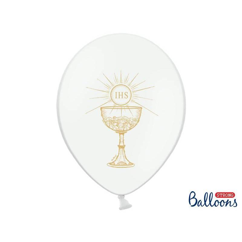 Ballons 30cm IHS Pastel Blanc pur