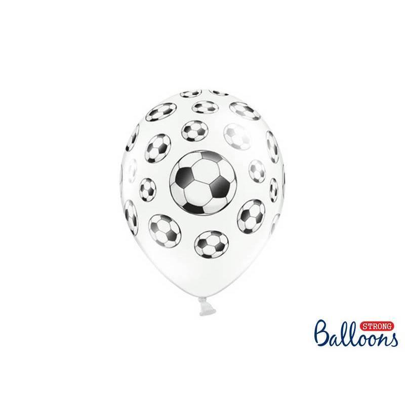 Ballons 30cm Ballons de foot Pastel Blanc pur