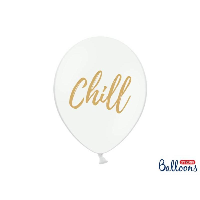 Ballons 30cm Chill Pastel Blanc Pur