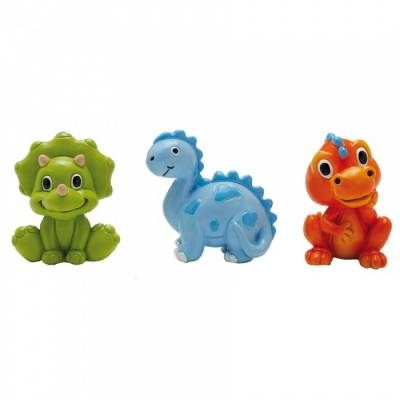 3 Figurines Dinosaure