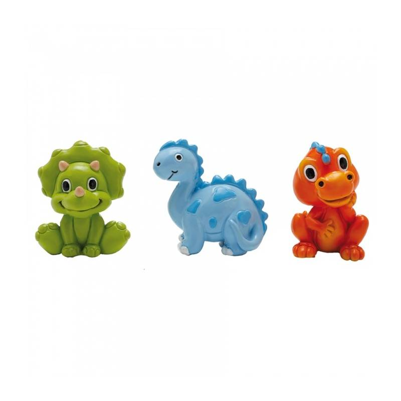 3 Figurines Dinosaure