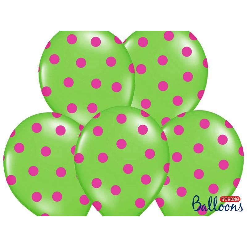 Ballons 30cm Vert Citron Pastel