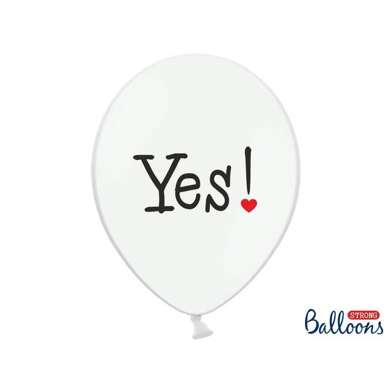 Ballons 30cm veux-tu… Pastel Blanc pur