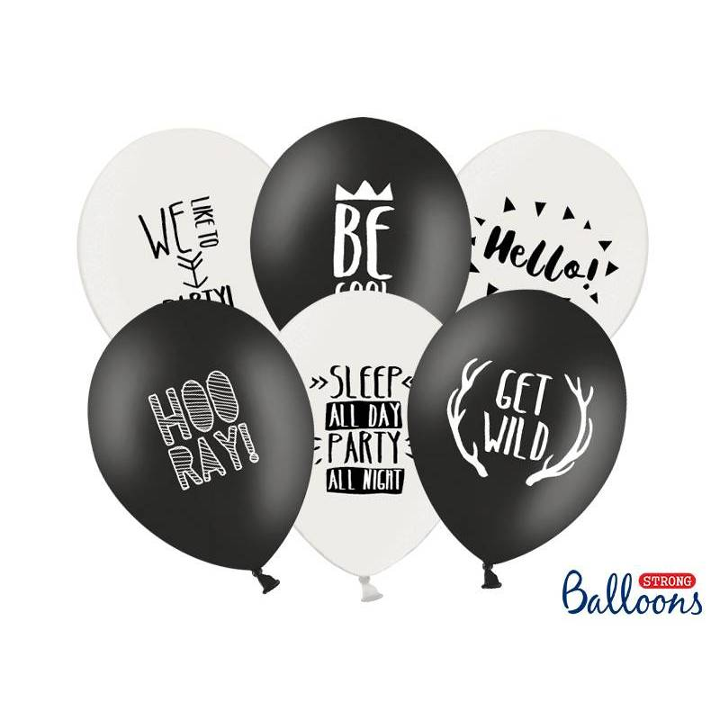 Ballons forts 30cm Party Mix Pastel
