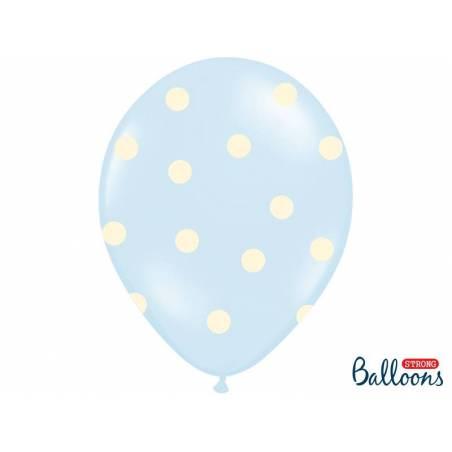 Ballons 30cm c'est un garçon mélange pastel