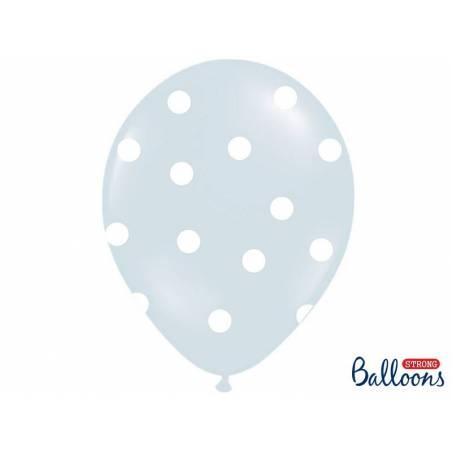 Ballons 30cm éléphant pastel mélange bleu bébé