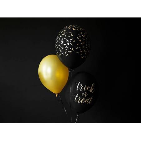 Ballons 30 cm chauve-souris noir pastel