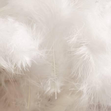 Plumes de dinde - Couleur blanche