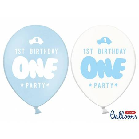Strong Ballonss One 30 cm bleu pastel