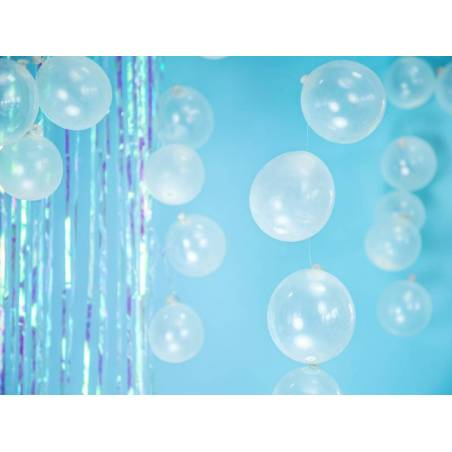 Ballons forts 12cm Crystal Clear