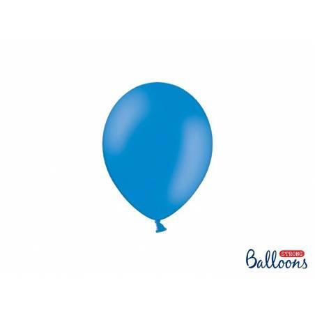 Ballons forts 12cm Bleu pastel bleuet