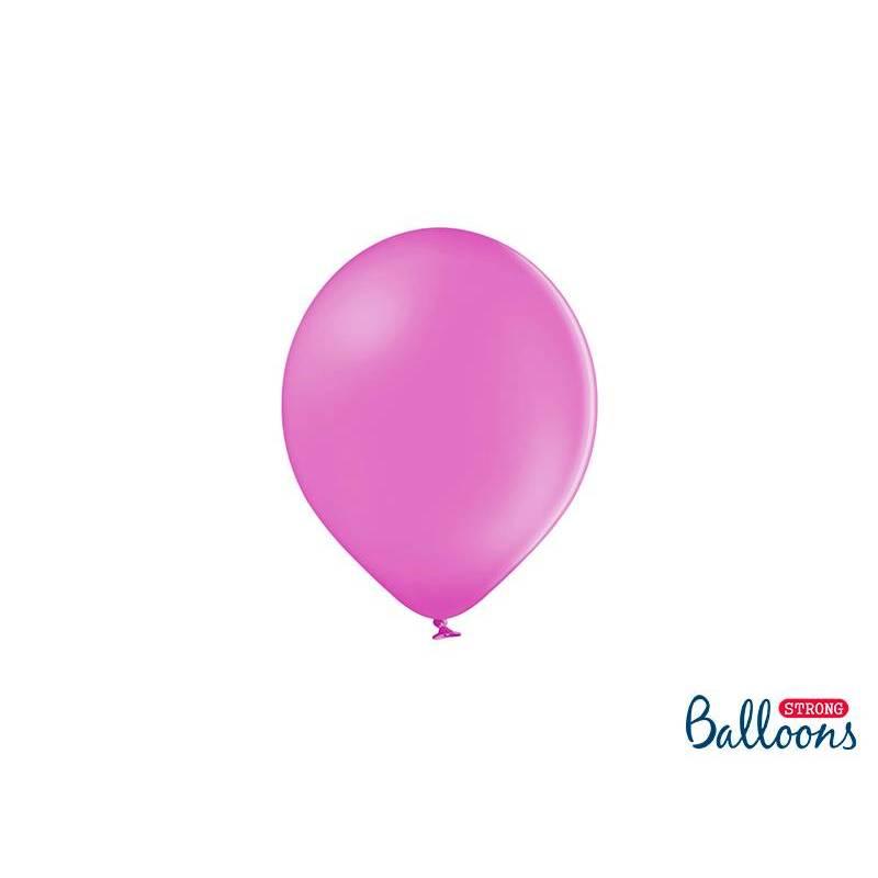 Ballons forts 12cm Pastel Fuchsia
