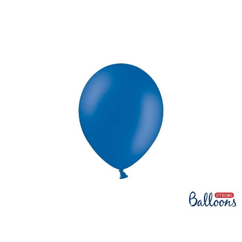Ballons forts 12cm bleu pastel