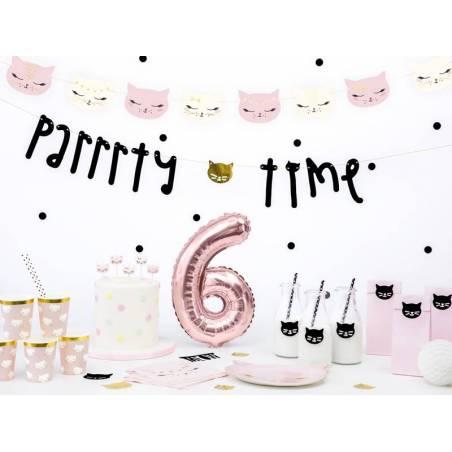Bougies d'anniversaire chat mélange 2cm