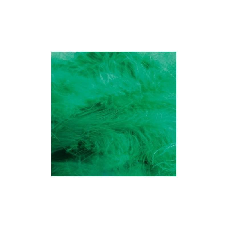 Plumes de dinde - Couleur émeraude