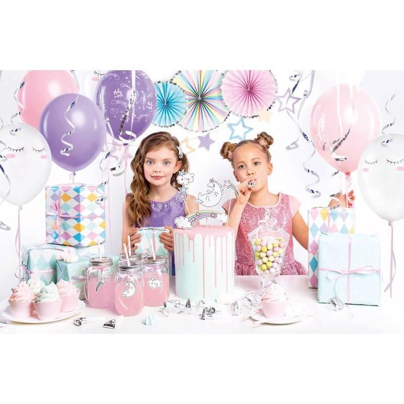 Set de décorations de fête - Licorne