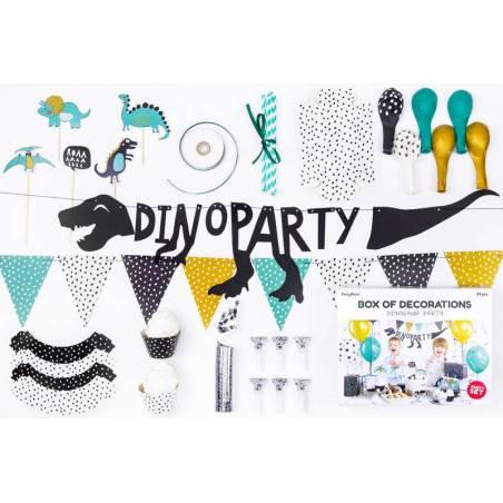 Set de décorations de fête - Dinosaures