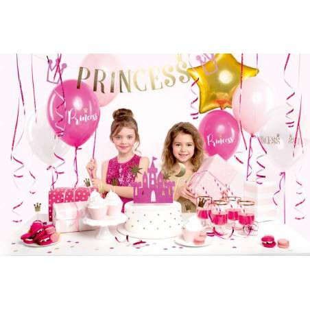Set de décorations de fête - Princesse