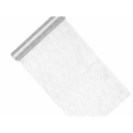 Maille décorative - Fibre argent 0.36x9m