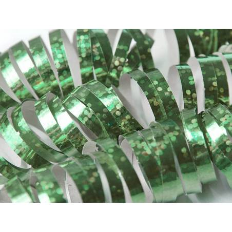 Streamer holographique vert 38 m
