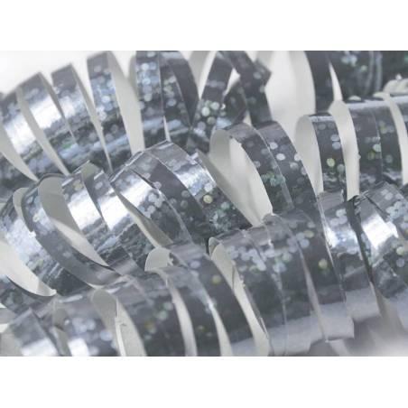 Streamer holographique argent 38 m