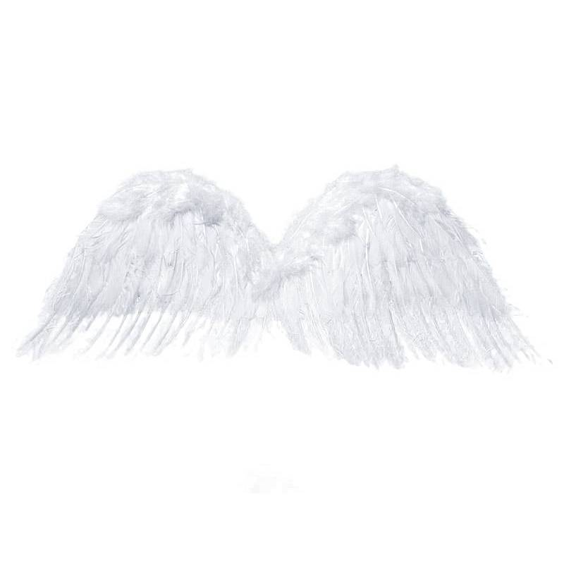 Ailes d'ange blanches 75 x 30cm