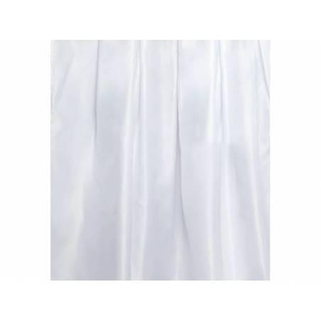 Plinthe épaisse en satin blanche 75 cm x 4 m