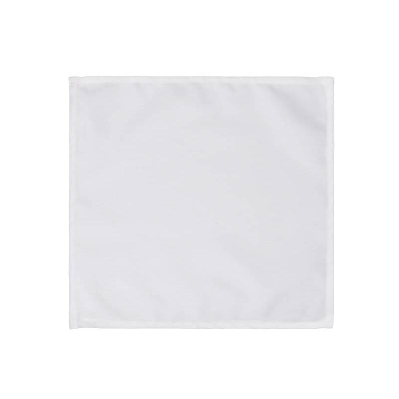 Serviettes blanches 35 x 35cm