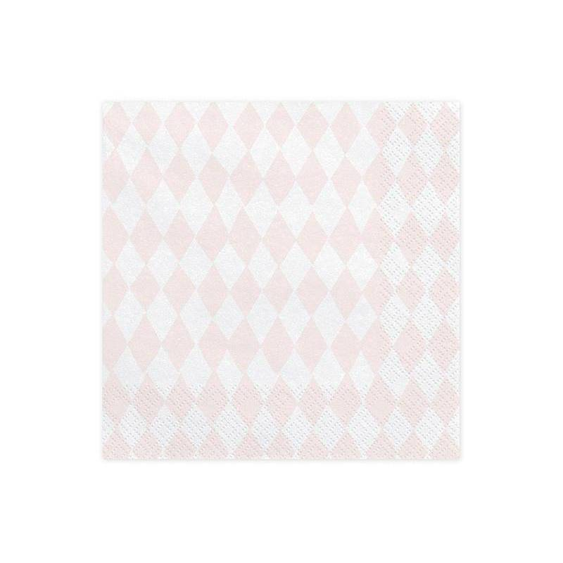 Serviette Licorne 33 x 33 cm