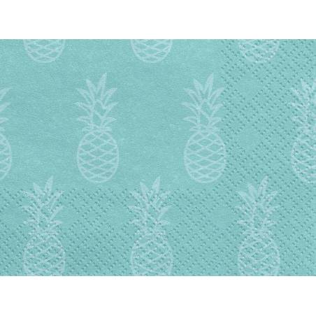 Serviettes Aloha - Ananas 33x33cm