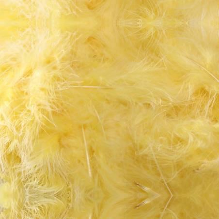 Plumes de dinde - Couleur jaune
