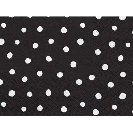 Serviettes Dots 33x33 cm
