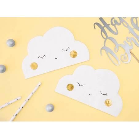 Serviettes - Cloud 16x9.5cm