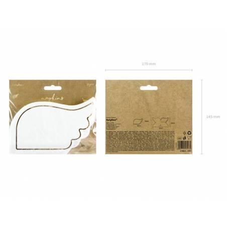 Serviettes - Ailes 32x20 cm