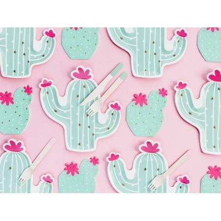 Serviettes Cactus mélange 115x135cm