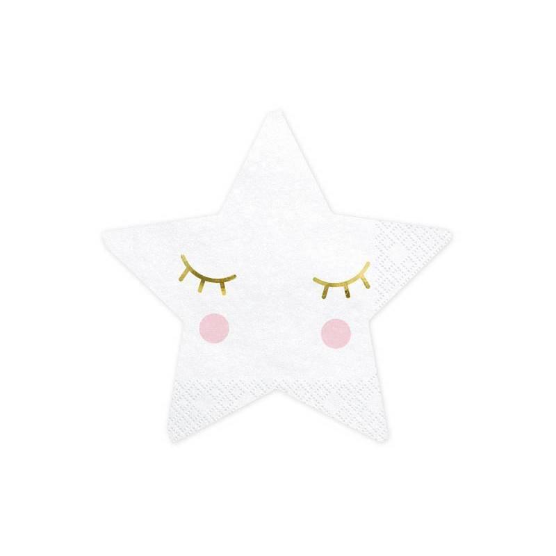 Serviettes Little Star - Star 16x16cm