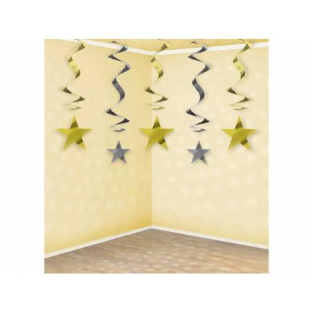 Étoiles tourbillonnantes 60cm