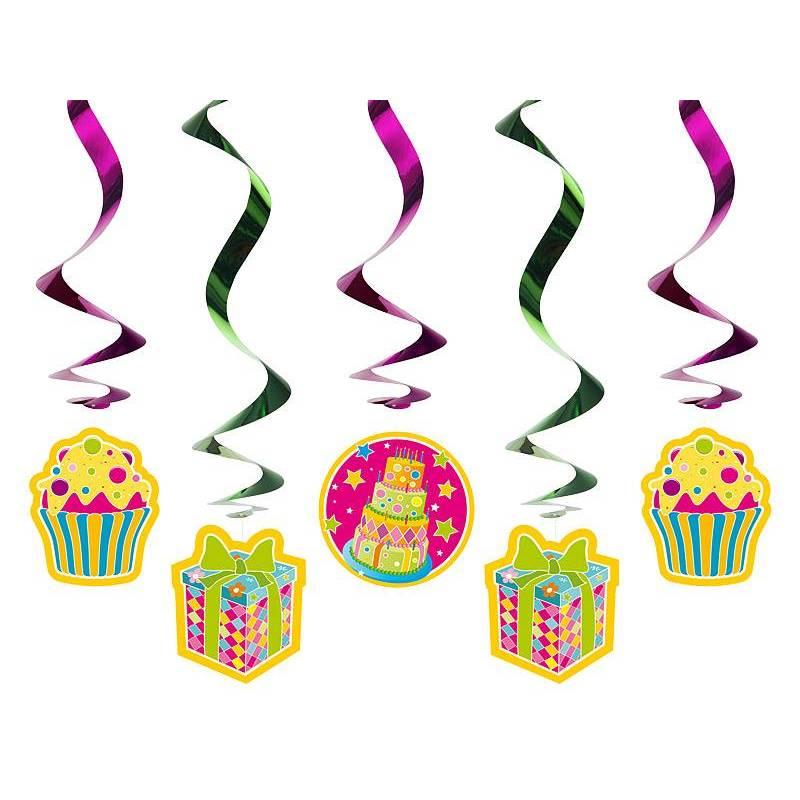Swirls Bonbons mélanger 60cm
