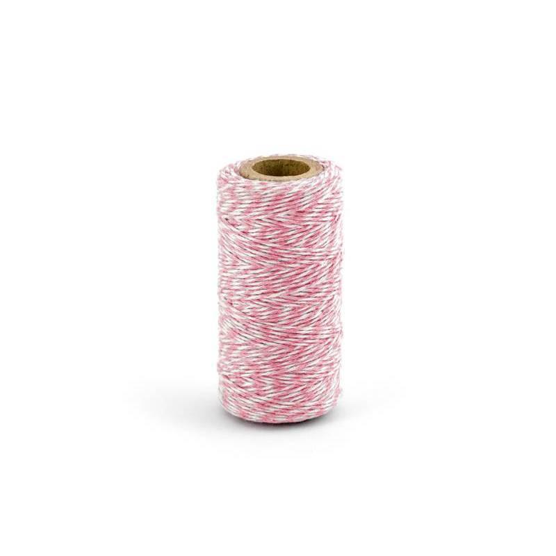 Ficelle de boulanger rose 50m
