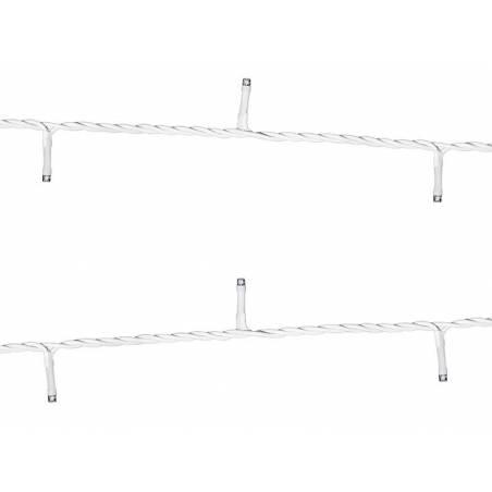 Lumières DEL blanches 10 m ne contient pas de prise britannique